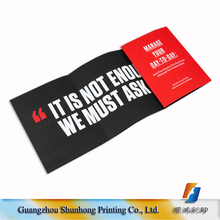 China companies digital printing press flyers/catalog low price printing