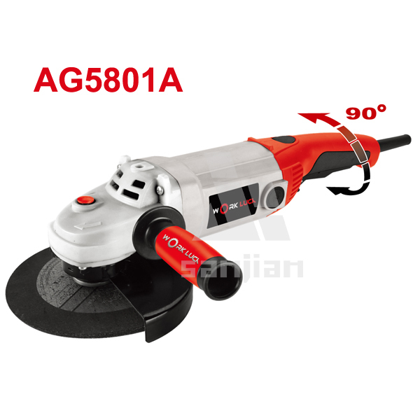 Angle Grinder 1800W 180MM Power Tool AG5801A granite stone cutting and polishing machine