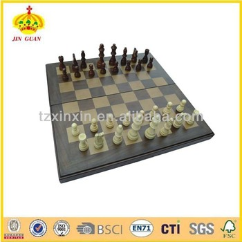 Professional Wooden chess box