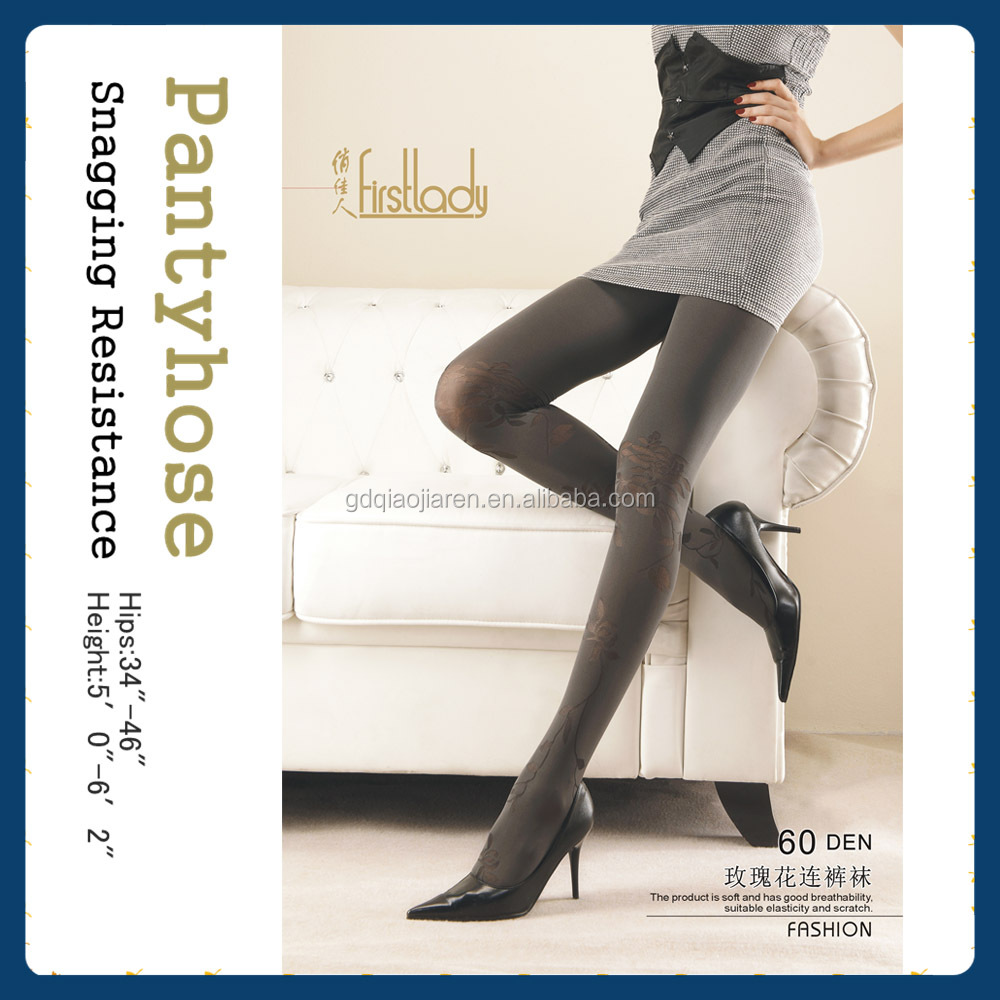 Material Yarn imported from Japan & Italy Snagging-resistance nude color stocking/pantyhose