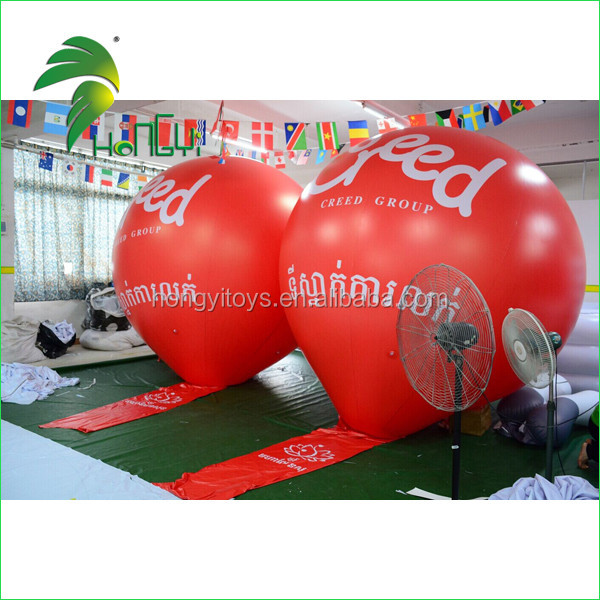inflatable helium balloon with banner (7)