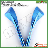 Maven Universal Aluminium CNC Scooter Side Mirror For Honda Cbr 125 150 250 400 600 929 1000 rr Motorcycle MV01001