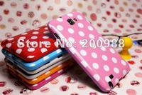 Spots Design Case Polka Dots Design GEL TPU Case for Samsung Galaxy Note 2 II N7100