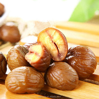 Roasted chestnuts kernels delicious nuts snacks food