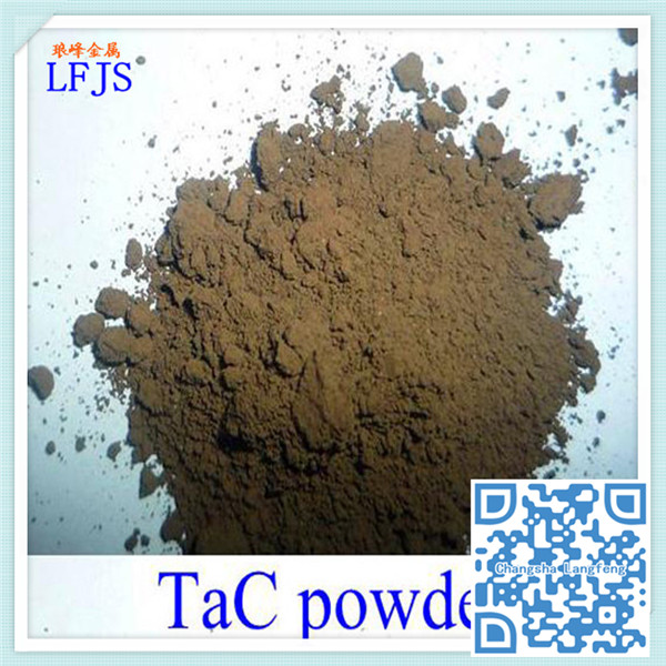 3-5 um (FSSS particle size)Tantalum carbide TaC is good material of high temperature coatings
