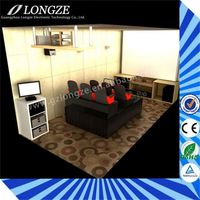 Simple 2/3/4/6/8/9/12seats Simulator Most popular new technology hot sale 3d 4d 5d animation movie