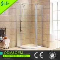 Portable simple corner glass shower enclosures made in China