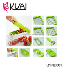 Stainless steel vegetable chopper nicer magic cube easy food dicer