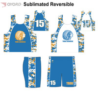 High Quality European Ink Sublimated Reversible Basketball Jerseys