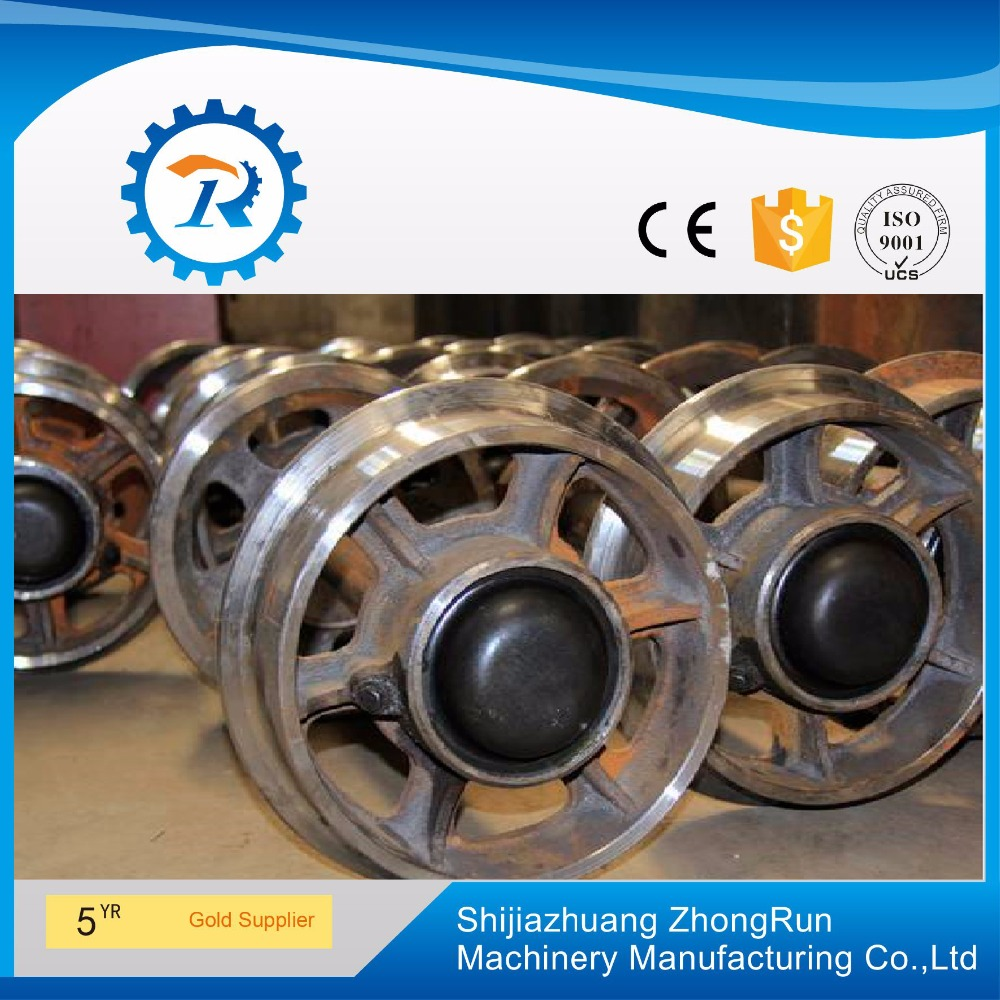 Precise Casting Mining Carts Wheels