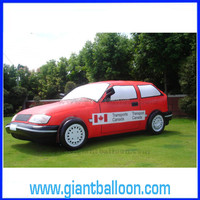 4.2mL Giant PVC Outdoor Inflatable Advertising Car