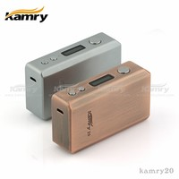 Kamry mechanical mod 20W box mod e-cig kamry 20, ecig 18650 usb battery
