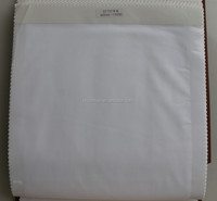 plain weave polyester cotton fabric bleached white