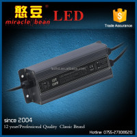 Miracle bean Outdoor IP67 120W led strip driver 5V 12V 24V 10A Power Supply