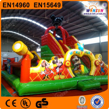 2015 best selling inflatable fun city large for rental