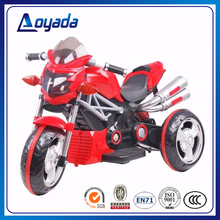 Best selling 3 wheels kids electric motorcycle / kids rechargeable motorcycle for child wholesale