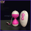 Wireless remote control Vibrating eggs sex toy for women jump eggs Pink
