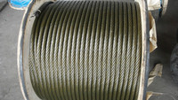 tugboat steel wire rope 6*31WS 60MM