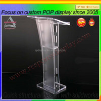 good quality floor standing acrylic display for Ipad