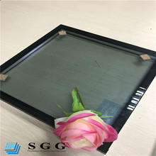 Heat control insulated sound proof wall glass