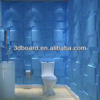 choc deep embossed pc board 3d wallpaper