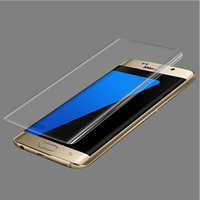 TPU Soft Flim New Clear 3D PET Curved Film Screen Protector for Samsung Galaxy S7 edge