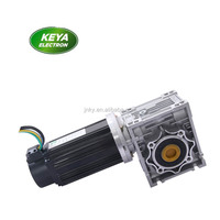 bldc motor worm gear motor 24v gearbox 12v 350w dc worm gear motor double shaft with encoder rubber track