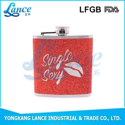 BPA free flask alcohol hip flask