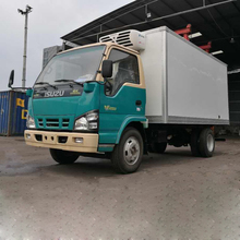 Factory pricere ckd type refrigerated truck body euro4 petrol mini van 0.5ton