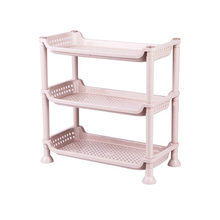 High quality cheap stand wear and tear small plastic shelf