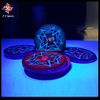 12g clay chips casino customized professional tournament ceramic chip 43mm round ceramic poker chips with UV Mark