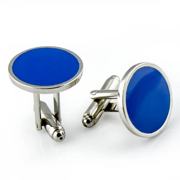 (16-25mm )Manufacturer For Men Blanks Stainless Steel Cufflink