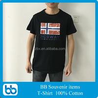 Tourism souvenir t shirt made in china