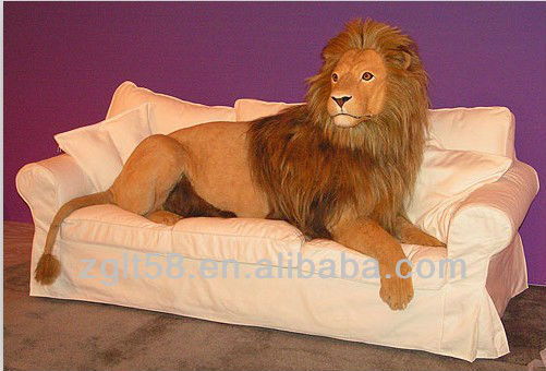 Life size animal tiger lion statues