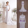 Custom Made V-neck tulle wedding dress in turkey