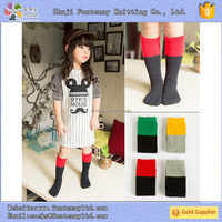 japanese foot cotton color sex hot child baby girl tube knee high sock