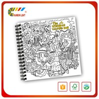 New Design Good Quality Coloring Hardcover English Story Children Book