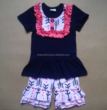 China factory directly wholesale baby clothes American kids clothes for summer&spring wholesale child clothes