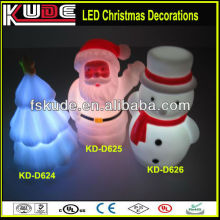 Multicolor led Christmas decorations Christmas Gifts 2013 LED luminous Christmas Tree,Father,Snowman