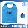OEM factory direct suppy smiley face foldable shopping bag 190T polyester cheap
