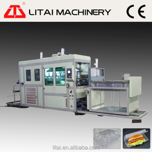 With sheet lifting unit forming part and cutting sheet part vacuum forming machine suitable making different disposable products