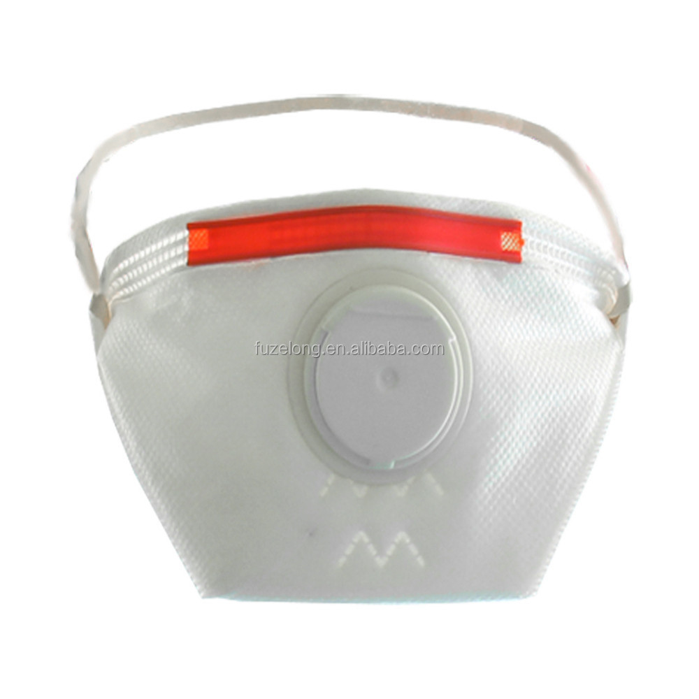 N95 folded disposable face mask anti dust Anti-virus anti-bacterial avoid cross-infection Flu prevention