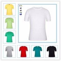 Slim Fit wholesale Price China Cheap White Plain Cotton Men Blank T Shirt