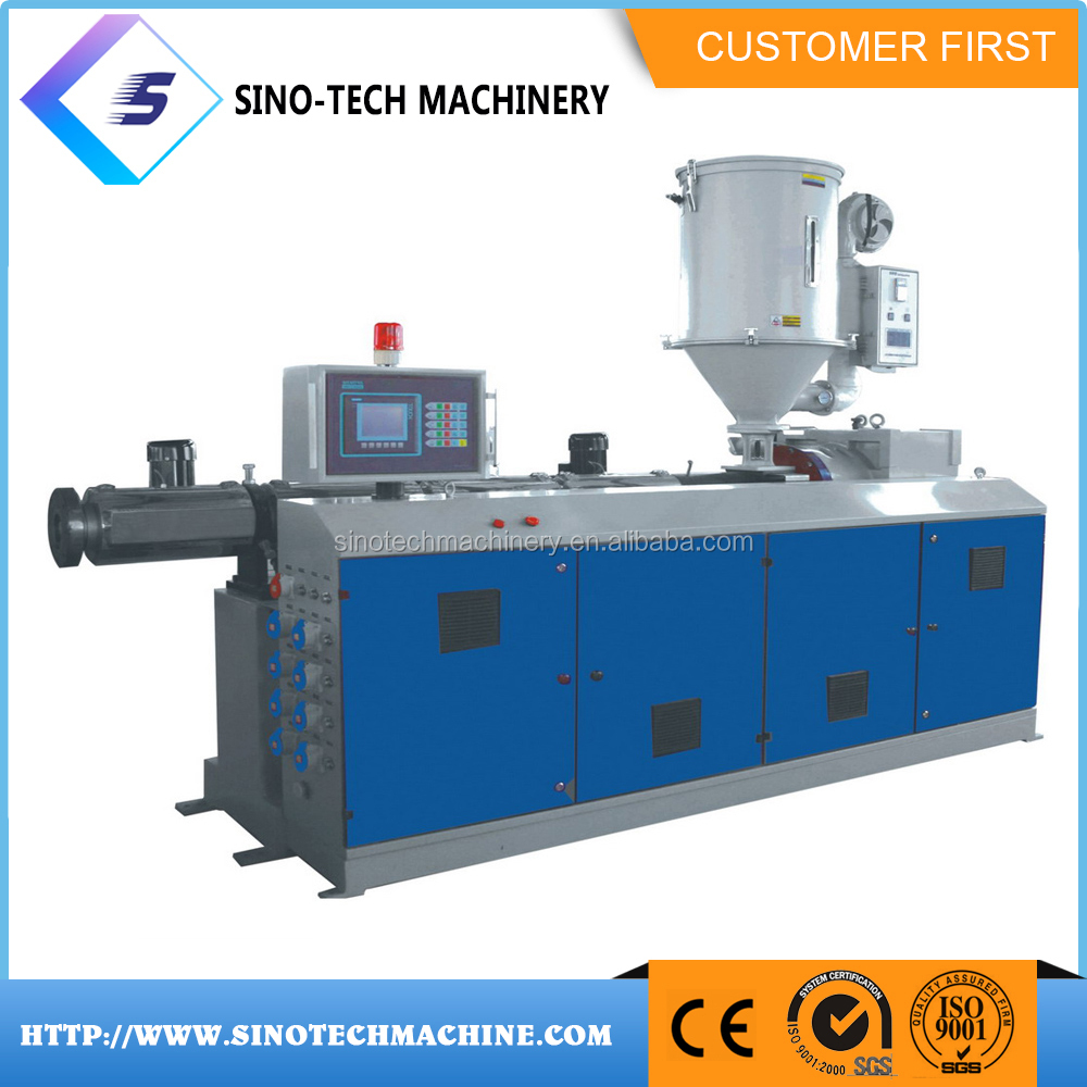 Newest polycarbonate silicone rubber extruder machine