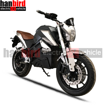2018 Fashion Super Power Big Range Adult Electric Motorcycle with 3000w Motor