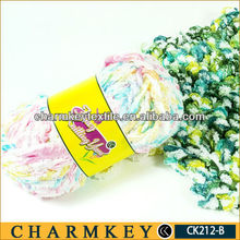 yarn dyed feeder stripe knitted fabric