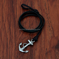 Fashion Accessories Factories Anchor Bracelet Silver