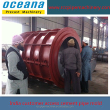 Roller Suspension Concrete pipe Making Machine, concrete tube forms, forms for concrete tubes