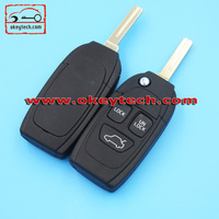 High Quatity Volvo flip remote key shell Car Key Volvo flip 3 button remote key shell volovo key fob