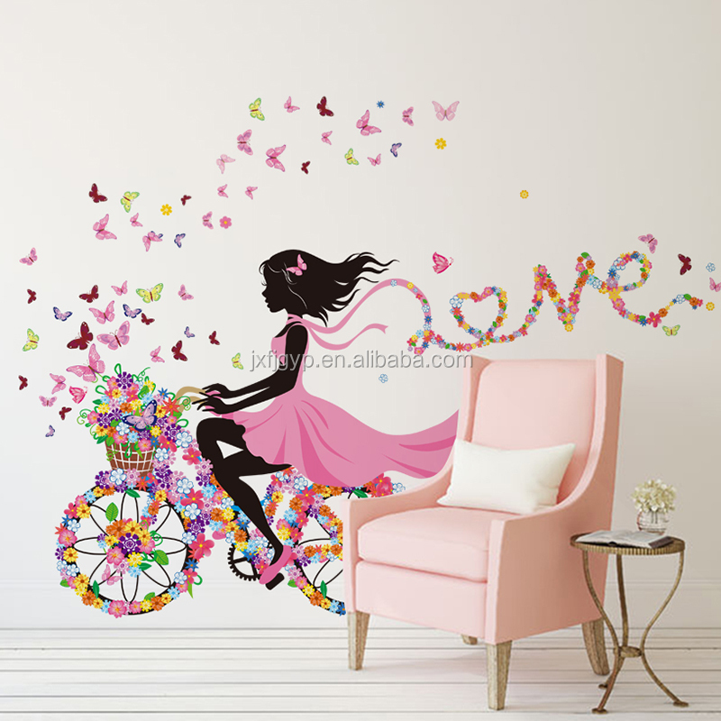 removable pvc nursery living room sofa children s room removable wall stickers art decals wallpapers living room